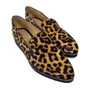Franco Sarto 'Fabrina' Leopard Print Flats  NWOB